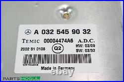 00-06 Mercedes W215 CL500 S500 S55 Distonic Cruise Control Module 0325459032 OEM