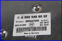 00-06 Mercedes W220 S500 SL55 AMG Cruise Control Distonic Module 0325459032 OEM