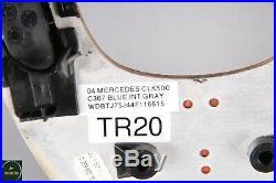 03-04 Mercedes W209 CLK500 Distronic Cruise Switch Center Trim Bezel Wood OEM