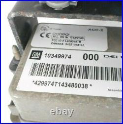 04 05 Cadillac XLR Adaptive Cruise Control Module Unit OEM 10349974