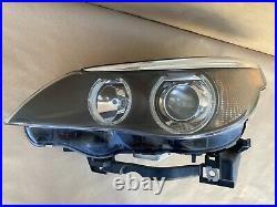 04-07 BMW E60 525i 545i 530i M5 OEM Left Dynamic Xenon HID Headlight Assembly #1