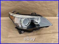 04-07 BMW E60 525i 545i 530i M5 OEM Right Dynamic Xenon HID Headlight Assembly