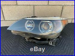 04-07 BMW E60 525i 545i 530i OEM Left Driver AFS Xenon HID Headlight Assembly