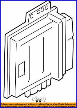 05 2005 NISSAN Frontier ECM PCM ECU Engine Control Module 23710-EA21B OEM //