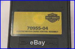 05 Harley Electra Glide CVO Cruise Control Actuator Module Motor 70955-04