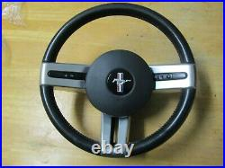 06 09 Ford Mustang Steering Wheel with Cruise Controls with Air Module OEM
