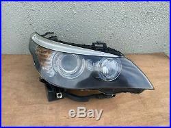 08-10 BMW E60 E61 528I 550I M5 Right RH Dynamic Xenon HID Headlight Assembly
