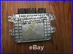 10 2010 NISSAN SENTRA ECM PCM ECU Engine Control Module 23710-ZT57A OEM