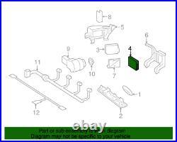 14-19 Mercedes C W205 E W212 Glc X253 Gle Collision Warning Center Radar Sensor