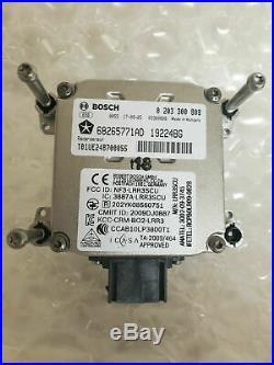 16 17 18 Jeep Cherokee Oem Radar Sensor Cruise Speed Control Module 68265771ad