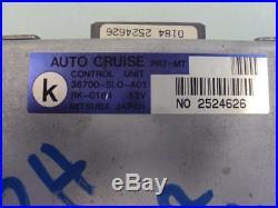 1993 1994 Acura NSX Cruise control module computer unit 36700-SL0-A02