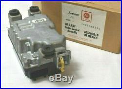 1994 Gmc Chevy Blazer C1500 C2500 K1500 K2500 S10 Cruise Control Module Computer