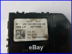 2003-2009 MK5 Volkswagen Golf 1K CRUISE CONTROL SWITCH + MODULE