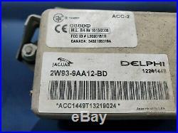 2004 05 06 07 2008 Jaguar Xj8 Xjr Vanden Plas Cruise Control Module 2w939aa12bd