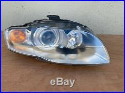 2006-2008 Audi A4 S4 XENON HID Complete Headlight Right Passenger with AFS OEM