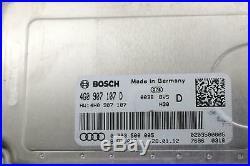 2011 -2012 Audi A8l D4 Distance Control Unit Adaptive Cruise Control Module Oem