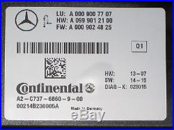 2017 Mercedes Cls400 Cls550 Cls63 Cruise Control Module, Part# 0009007707, Oem