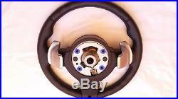 BMW 5er 6er ///M Lenkrad Schaltwippen+Vibration+Stop&Go Steering Wheel OEM