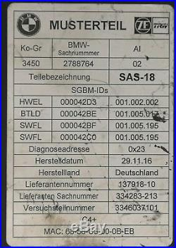 BMW Control unit SAS 18 2788764 Active Cruise Control Module
