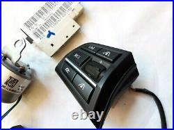 BMW F01 F10 F12 Steering Wheel MF Buttons Active ACC Vibration Module Wiring OEM