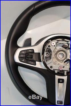 BMW G30 G31 G38 G32 M Sports Steering Wheel Leather Lenkrad Leder 32308008186