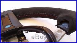 BMW ///M Lenkrad Heizung+Vibration+Neu Alcantara+Carbon Blende Steering Wheel