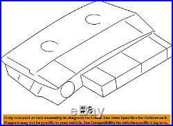 BMW OEM 09-15 750Li-Cruise Control Module 61317468009