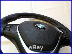 BMW Sport Lenkrad mit Heizung Steering Wheel Heated Flat Bottom 1er 2er 3er 4er