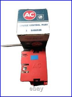 Cadillac Cruise Control Module 6466534 6466535 1978 And 1979 Cadillacs NOS