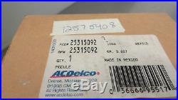 Dealership NOS OEM GM 25315092 12575408 Cruise Control Module Genuine Delco