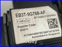 Ford Ranger Cruise Control Adaptive Sensor Radar Module Unit EB3T9G768AF
