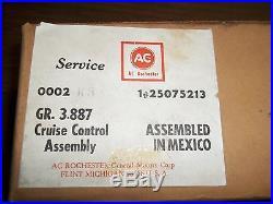 GM 25075213 Cruise Control Module NIB