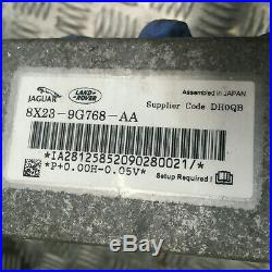 Jaguar Xf Adaptive Cruise Control Module 8x23-9g768-aa