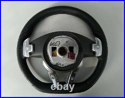 MERCEDES W213 C238 A238 NAPPA LEATHER STEERING WHEEL shift FLAT withSRS sport/amg