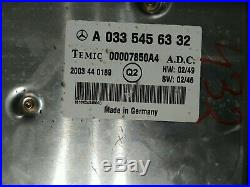 MERCEDES W220 S55 amg S600 S500 DISTRONIC CRUISE CONTROL MODULE COMPUTER OEM