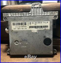 Mercedes E320 W124 E-GAS THROTTLE BODY COMPUTER CRUISE CONTROL MODULE 0215452432