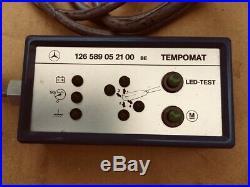 Mercedes SL 107 123 124 126 201 cruise control tester box module TEMPOMAT rare