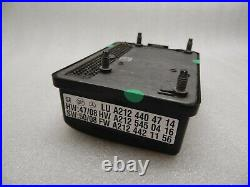 Mercedes S Klasse W221 Distronic Sensor Abstand Radar Steuergerät A2124404714