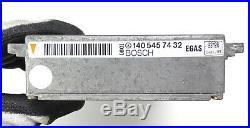 Mercedes W140 600SEL cruise control module Egas 1405457432 0205000031