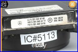 Mercedes W216 CL550 ML550 Distronic Control Module Cruise Control Sensor OEM