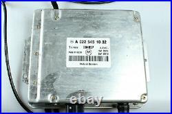 Mercedes W220 Distronic Adaptive Cruise Control Set Module 0225451032 Retrofit