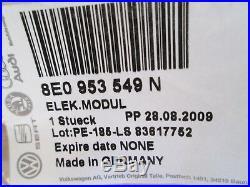 New Genuine Audi A4 Steering Column Switch Ecu Module 8e0953549n