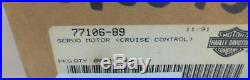 New Harley Cruise Control Servo Motor/module 77106-89/ Fits 1989 1990 1991 1992