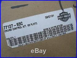 New Harley Davidson Cruise Control Kit with module 77127-93C Touring Ultra Classic
