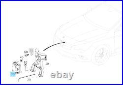 New Oem Mercedes Benz Bis 2015 Acc Abstandsregeltempomat Radarsensor A0009009608