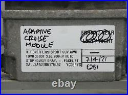 Range Rover Sport Cruise Control Module L320 8x23-9g768-aa E2b1