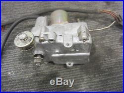 Rolls Royce Silver Spur Cruise Control Motor Servo Module P/N 408201/1/7