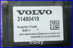 Volvo V60 V70 Xc60 Adaptive Cruise Control Unit Module 31400419